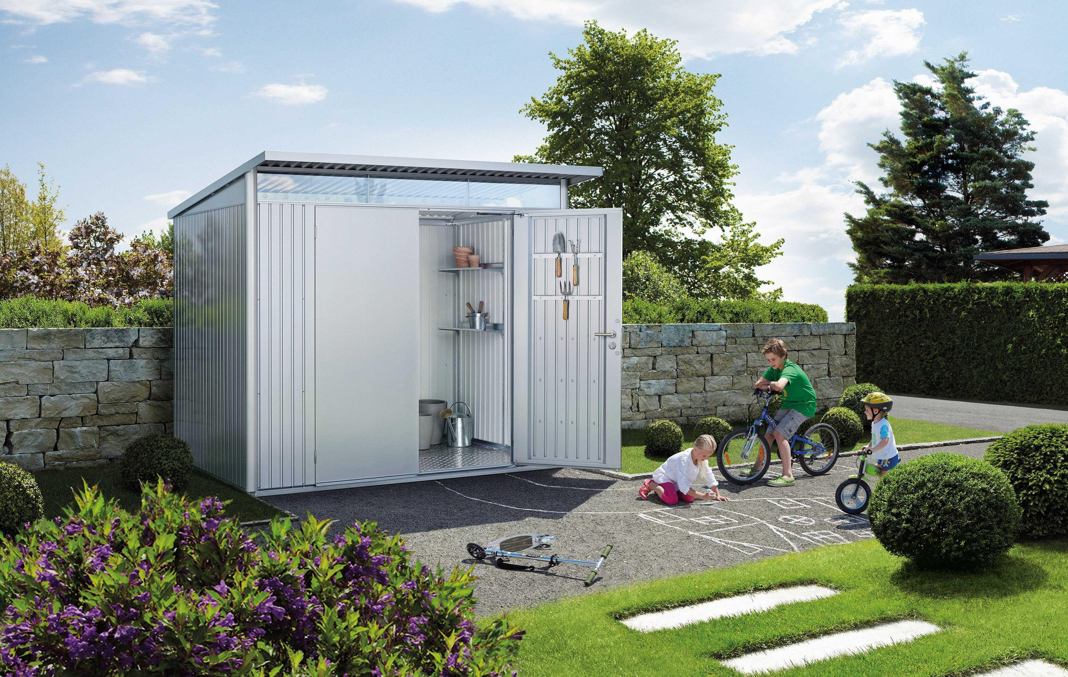 Casetta Giardino In Alluminio : Casetta in lamiera vendita casette da giardino udine